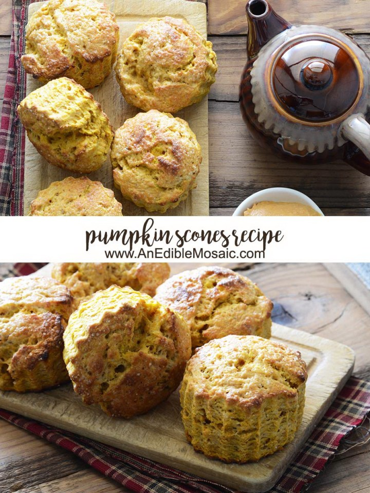 Pumpkin Scones Recipe Pinnable Image
