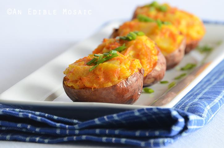 Lightened Up Twice Baked Potatoes 2