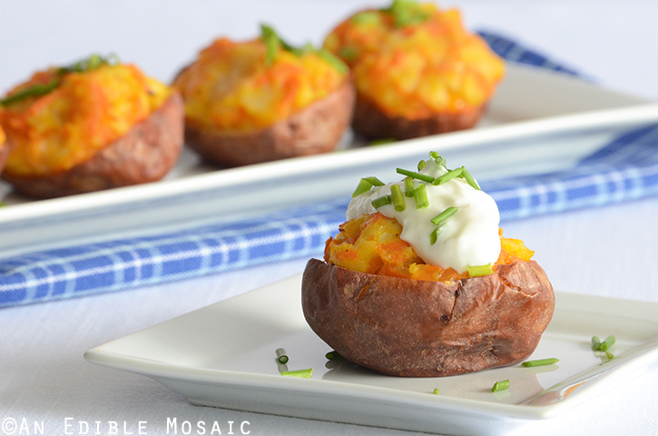 Lightened Up Twice Baked Potatoes