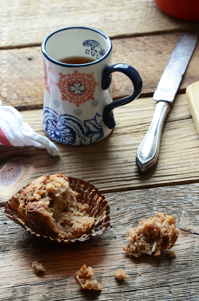 Whole Wheat Sour Milk Apple Cinnamon Muffins 2