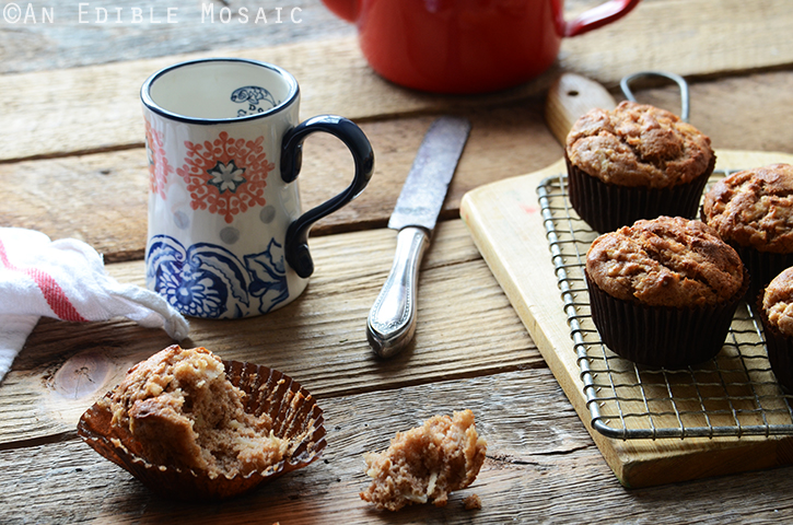 Whole Wheat Sour Milk Apple Cinnamon Muffins 5