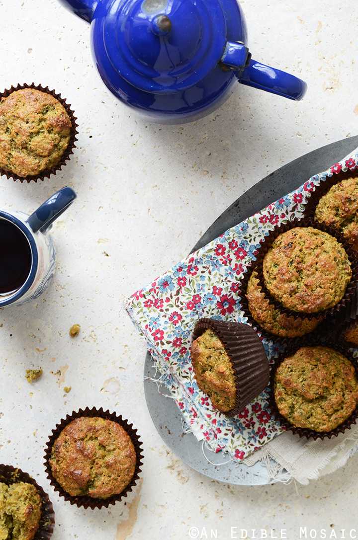 Morning Glory Muffins with Juice Pulp