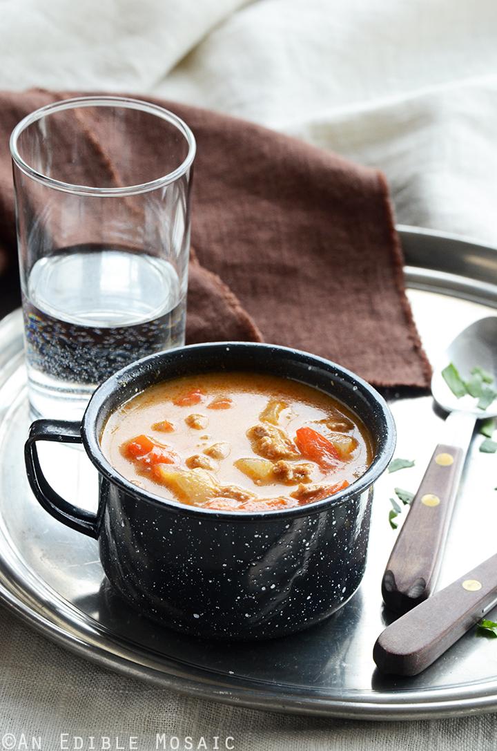 Quick Chicken Paprika Soup 2
