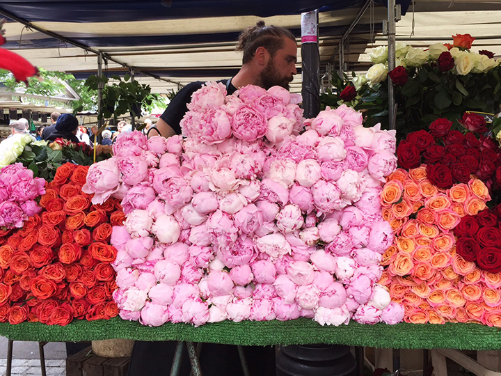 Flowers at Marche d'Aligre 2