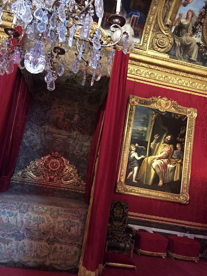 King Louis XIV Bedchamber at Versailles
