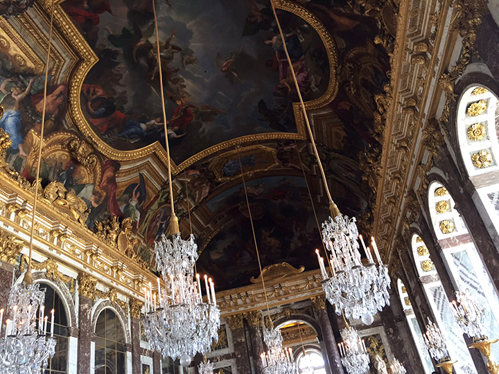 Versailles Hall of Mirrors 2