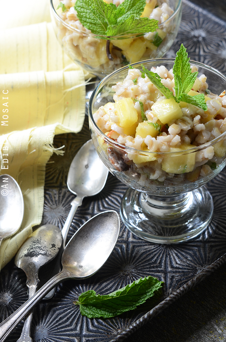 Breakfast Pineapple and Pearl Barley Pilaf 1