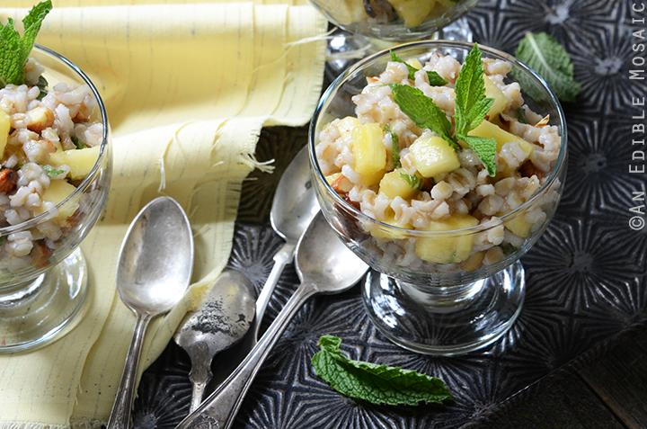 Breakfast Pineapple and Pearl Barley Pilaf 5