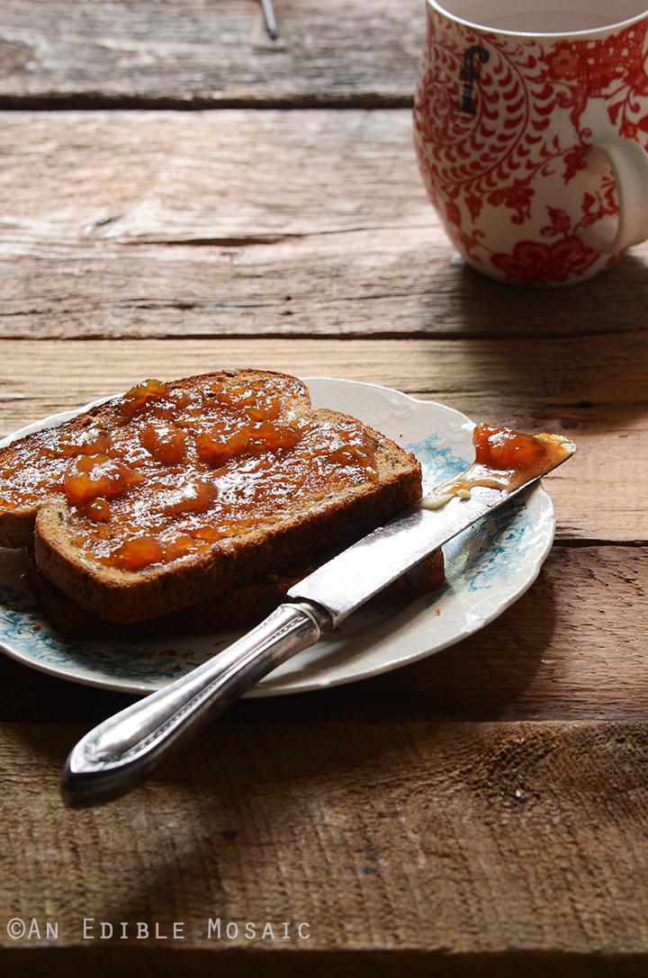 Vanilla-Scented Peach Jam 2