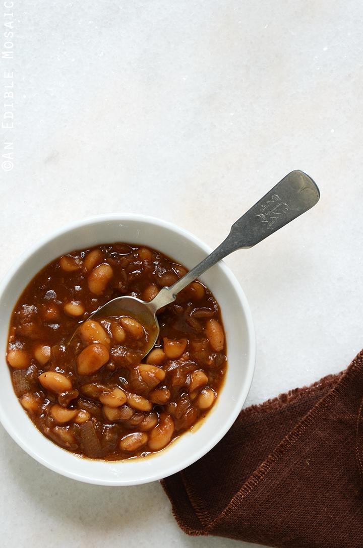 Vegetarian Boston Baked Beans 3