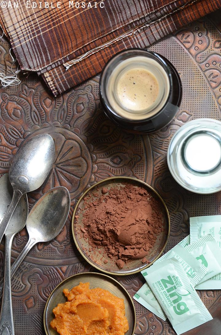 Skinny Frozen Pumpkin Spice Mocha Ingredients 1