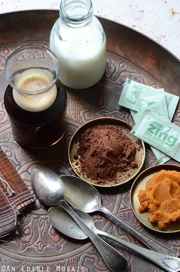 Skinny Frozen Pumpkin Spice Mocha Ingredients 2