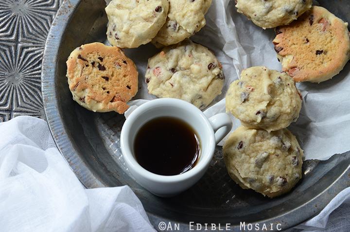 Soft Cannoli Cookie Sandwiches with Almond, Orange, and Dark Chocolate 5