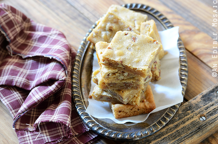 Butterbeer Brown Butter Blondies with Toasted Pecans 5