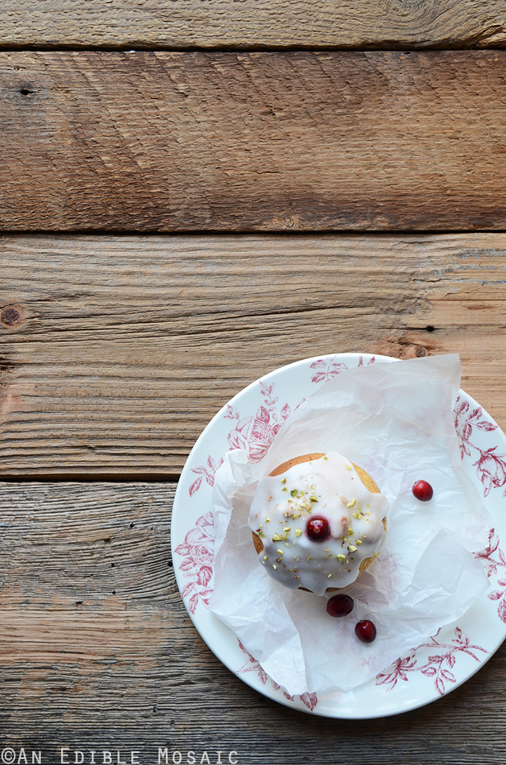 Cranberry-Pistachio Cupcakes 1