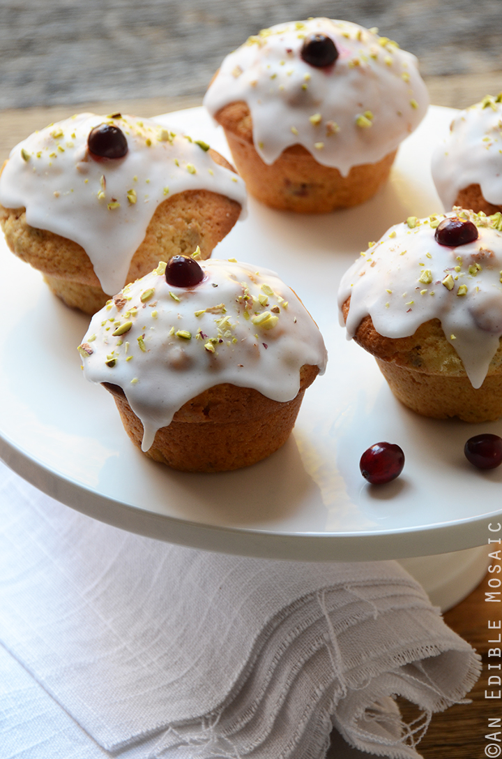 Cranberry-Pistachio Cupcakes 2