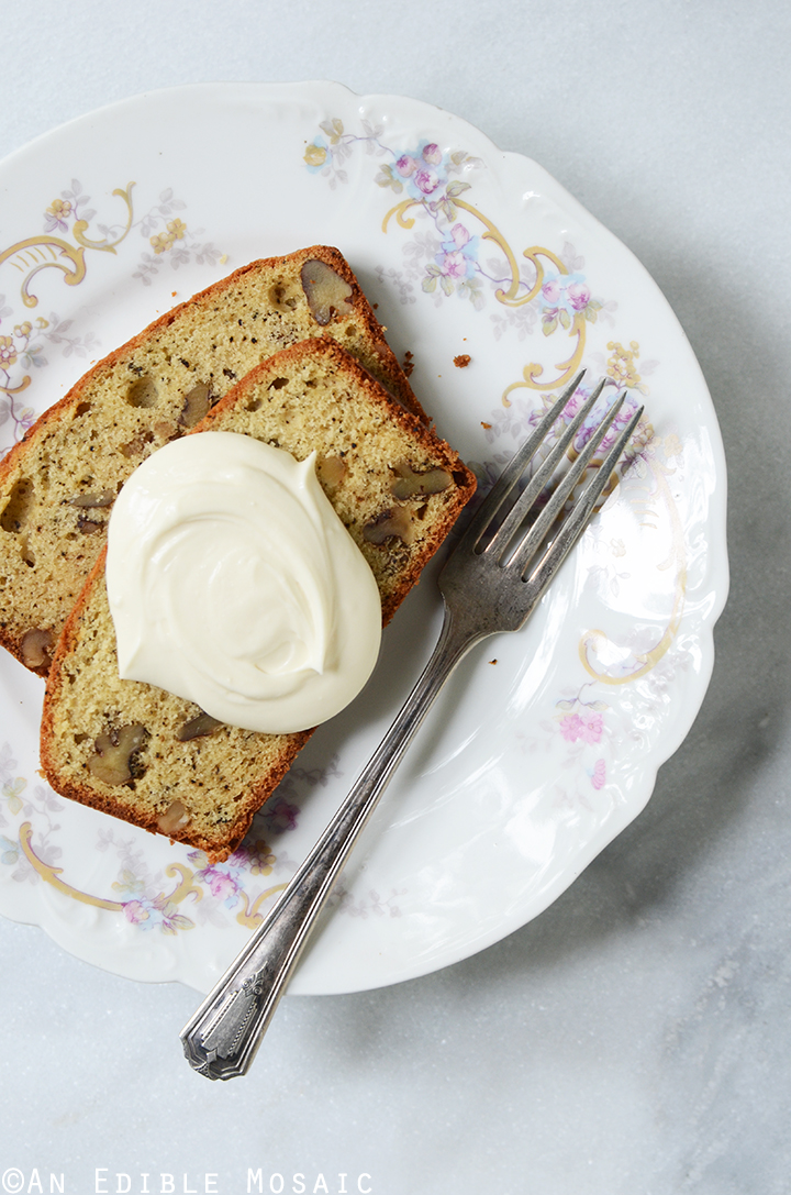 Earl Grey Tea and Honey Pound Cake with Walnuts 3
