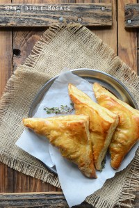 Easy Leftover Turkey, Mushroom, and Brie Puff Pastries