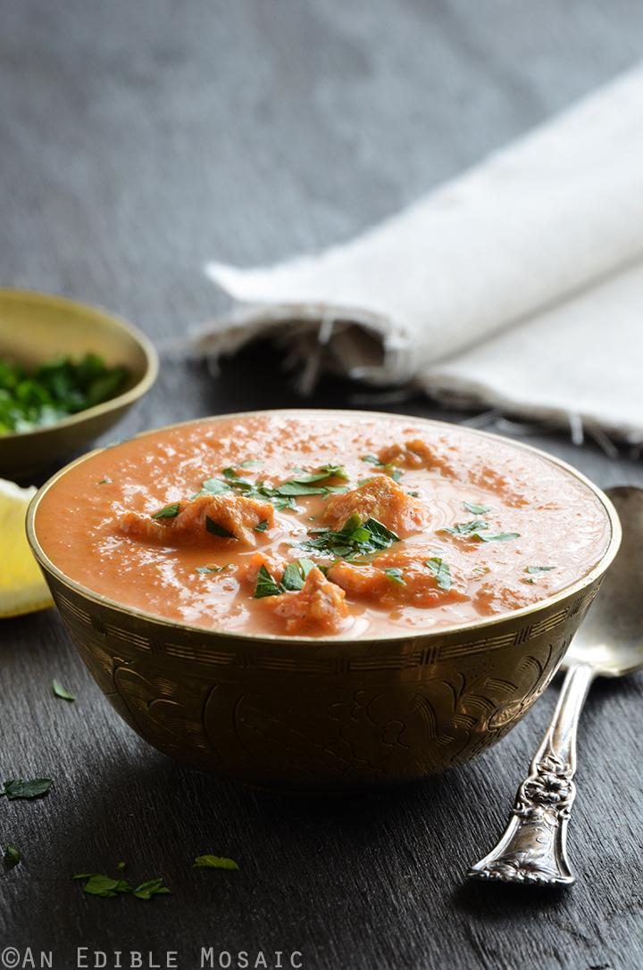 Lightened Up Chicken Tikka Masala Soup