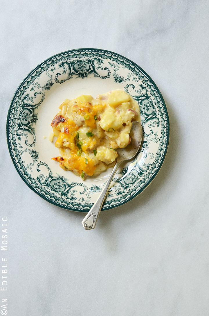 Loaded Cheesy Potato Casserole 2