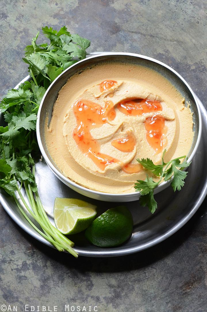 Peanutty Thai Curry Hummus 1