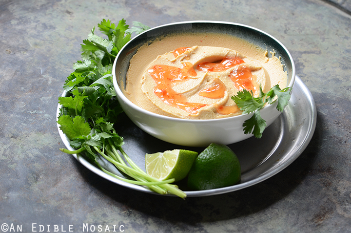 Peanutty Thai Curry Hummus 4