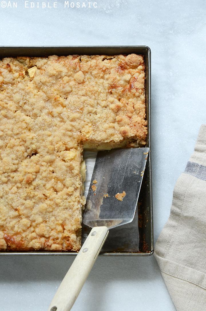 Streusel-Topped Apple Cinnamon Custard Cake 3