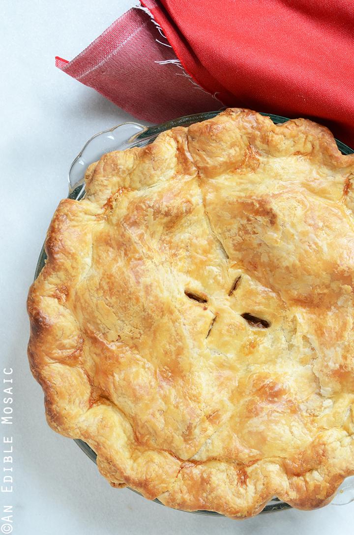 Vegan Apple Peanut Butter Pie 2
