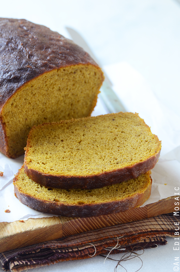 Warm-Spiced Pumpkin Yeast Bread 1