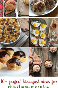 10+ Perfect Breakfast Recipe Ideas for Christmas Morning