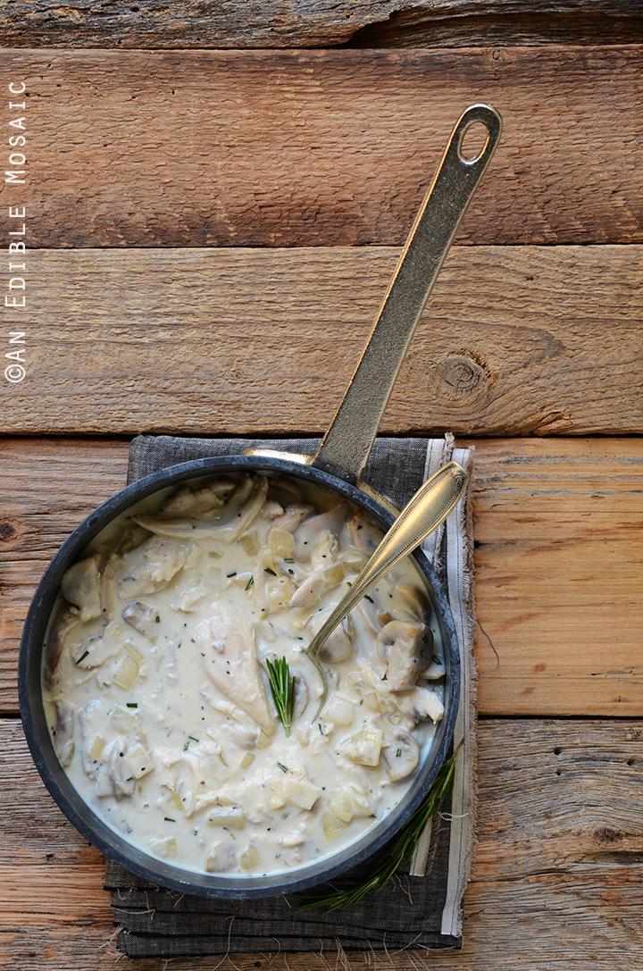 15-Minute Turkey Stroganoff with Fresh Rosemary 2