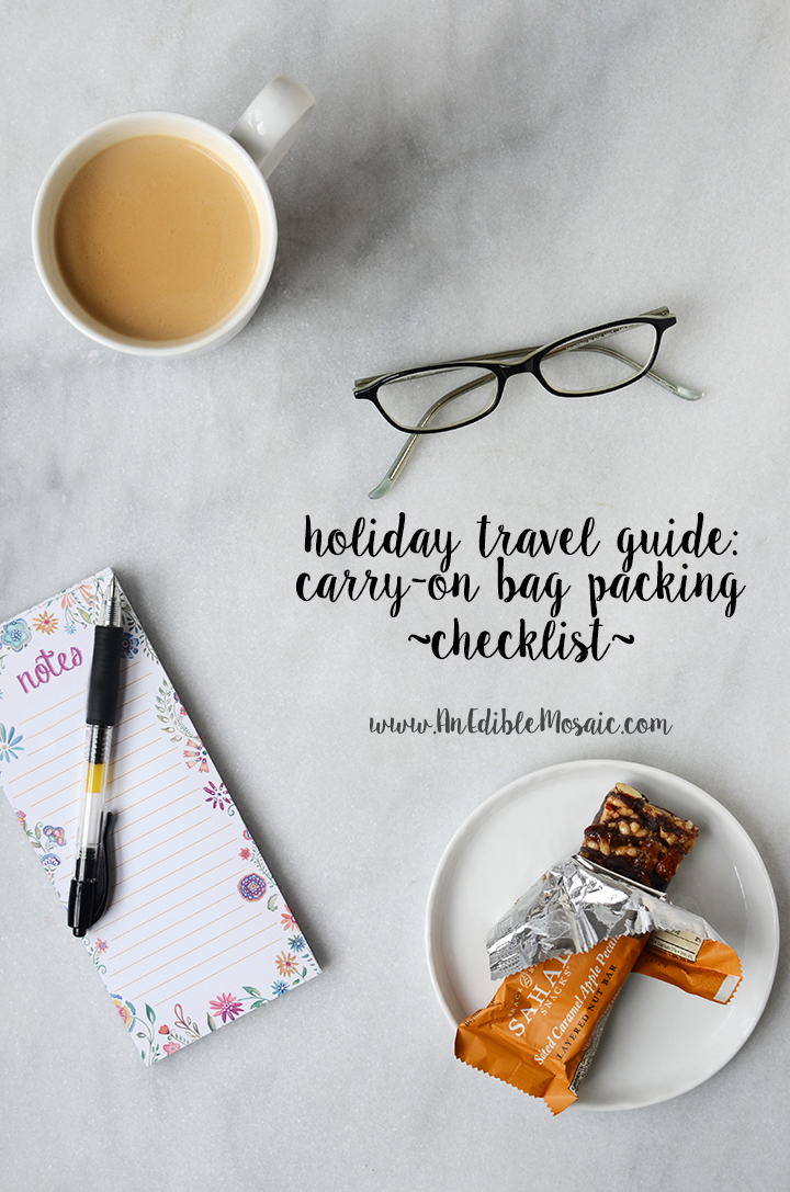 Holiday Travel Guide Checklist