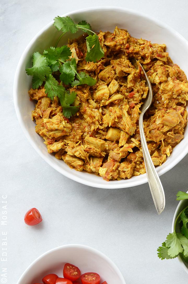 Easy Turkey or Chicken Masala Wraps 2