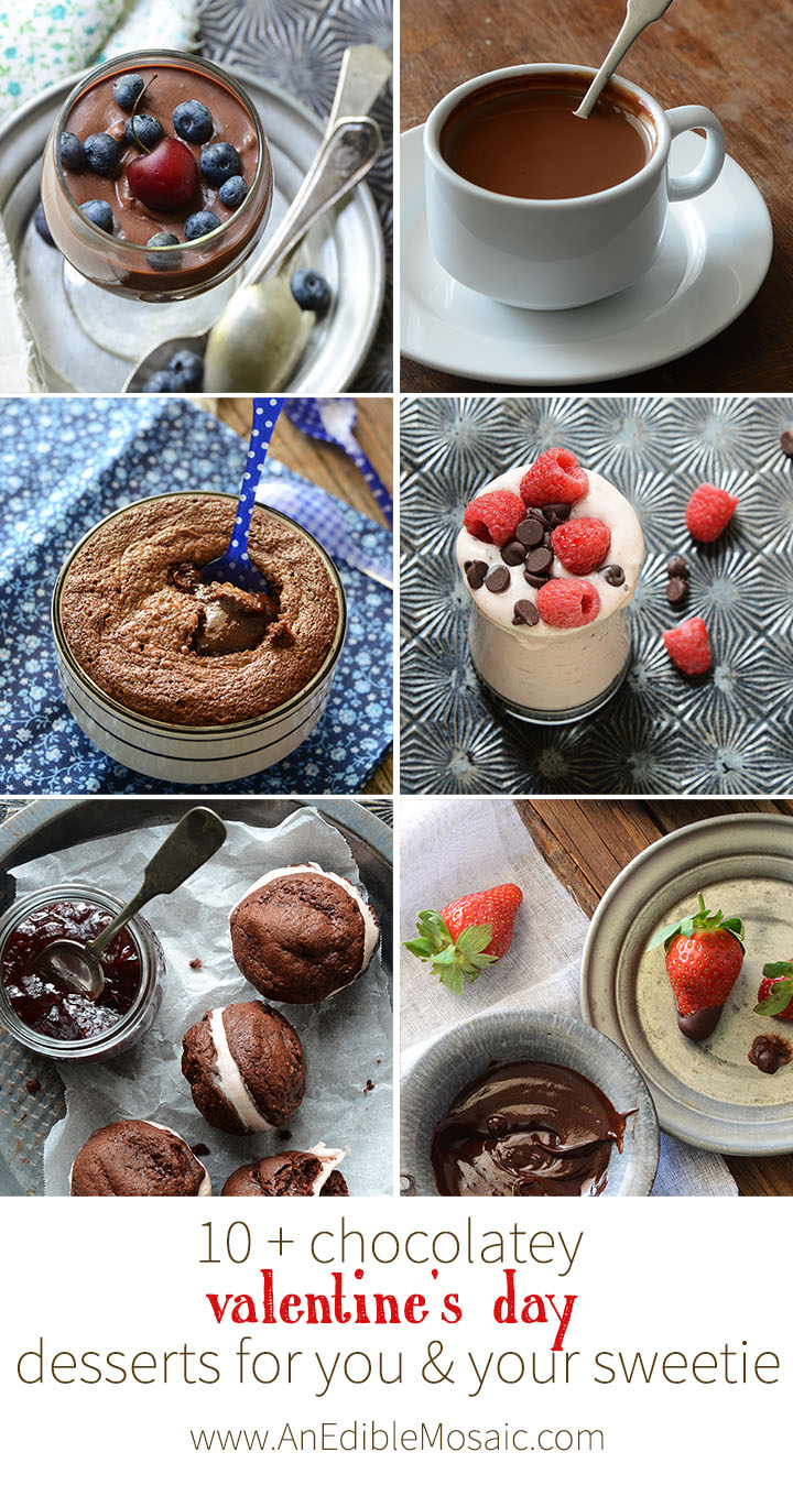 10+ Chocolatey Valentine's Day Desserts For You and Your Sweetie