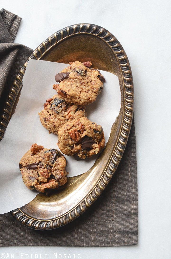 Healthy Fig and Pecan Breakfast Cookies {Gluten-Free} 3