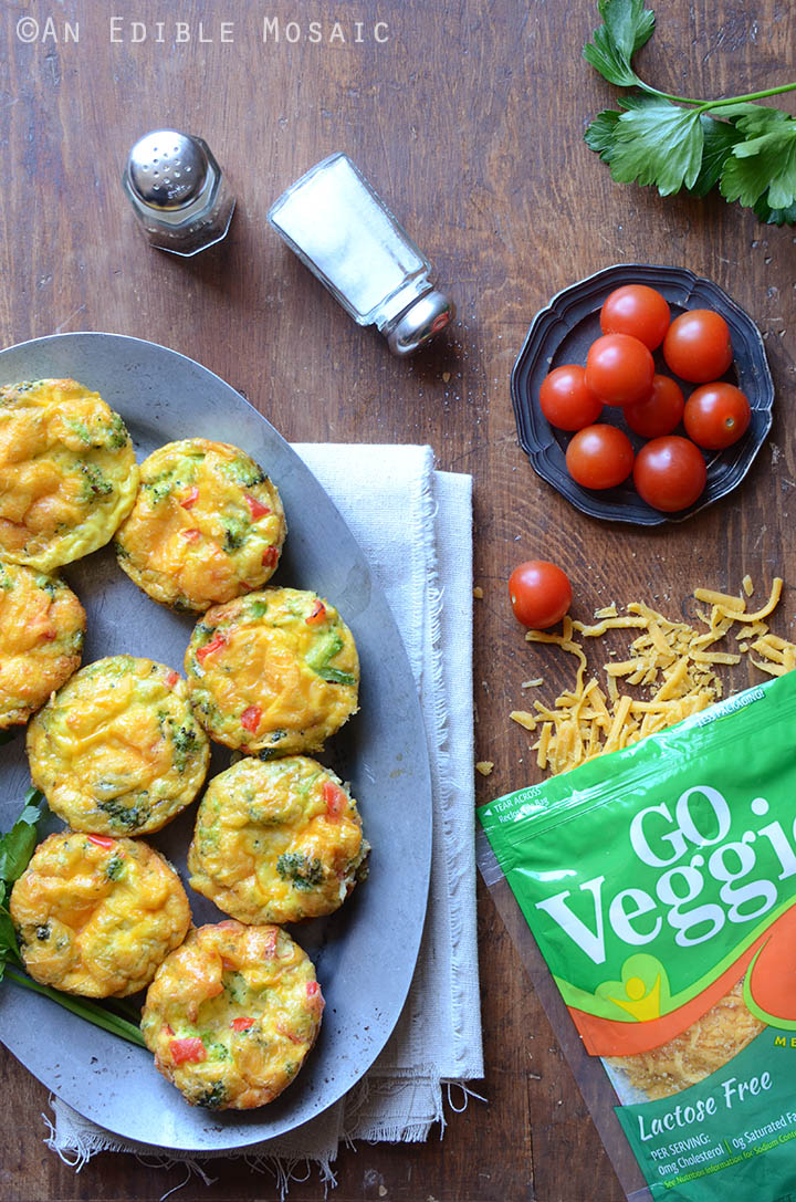 Broccoli and Red Pepper Egg Muffins {Gluten-Free; Lactose-Free} 3