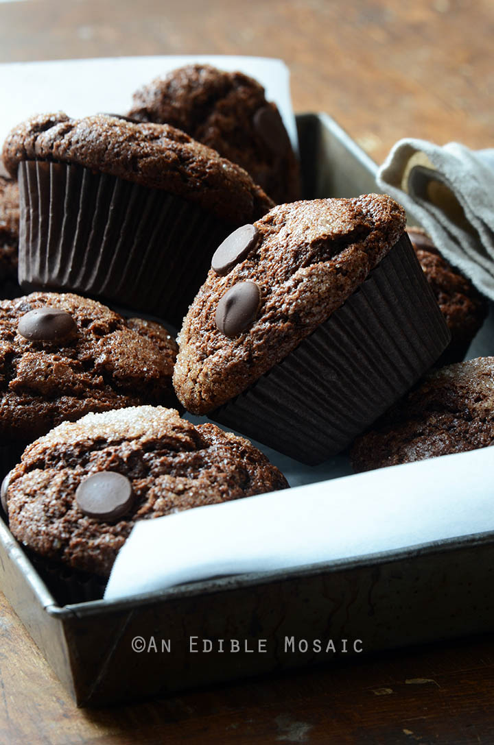 Mexican-Spiced Triple Chocolate Muffins 2
