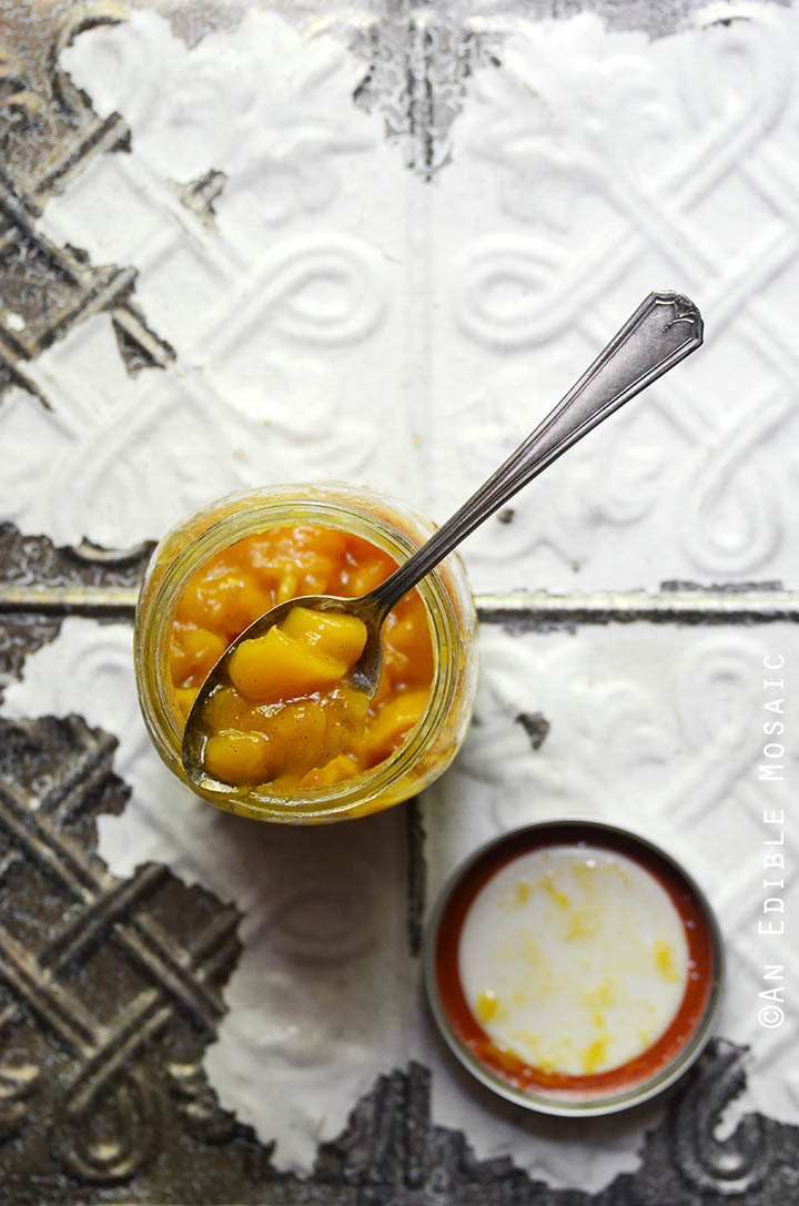 Vanilla Mango Preserves 1