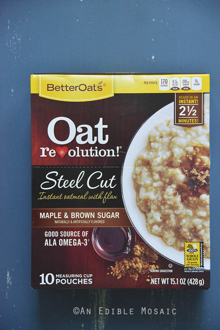 Better Oats Steel Cut Maple and Brown Sugar 1