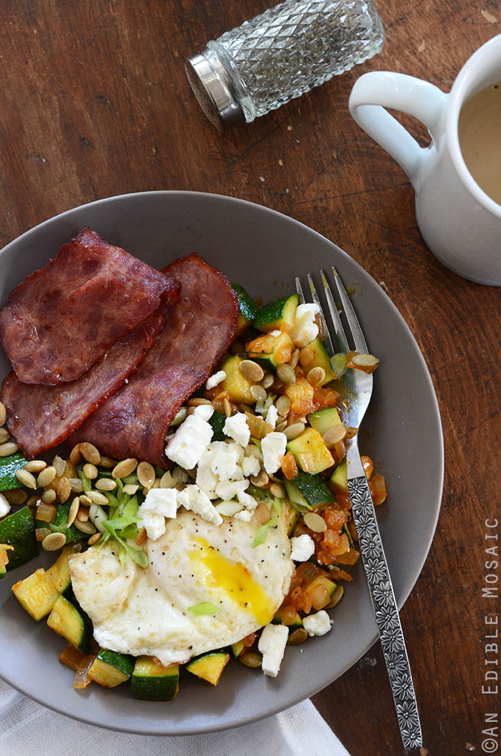 Smoked Paprika Zucchini Hash Breakfast Bowls 1