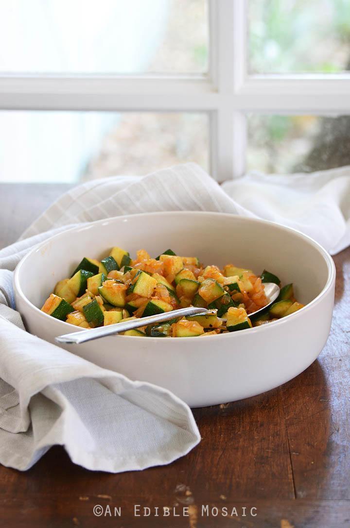 Smoked Paprika Zucchini Hash Breakfast Bowls 2