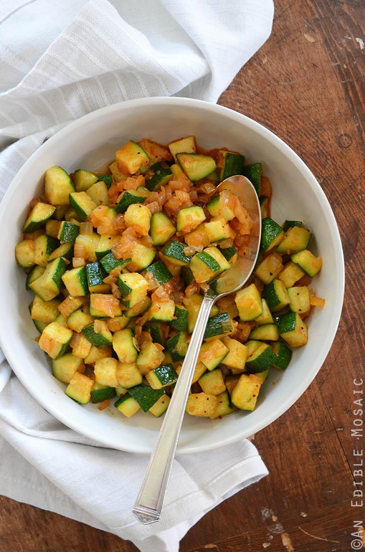 Smoked Paprika Zucchini Hash Breakfast Bowls 3