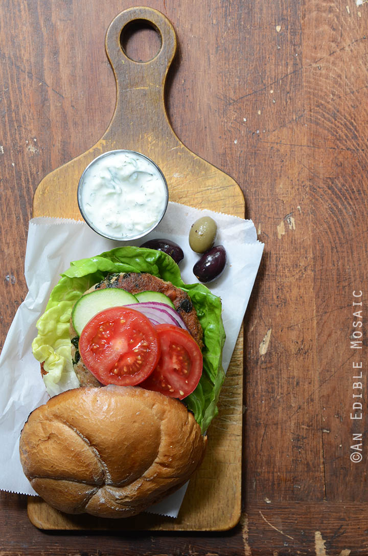 Spanakopita Turkey Burgers 3