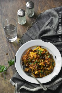 Weeknight Cheesy Beef Skillet Chili {Gluten-Free; Lactose-Free}