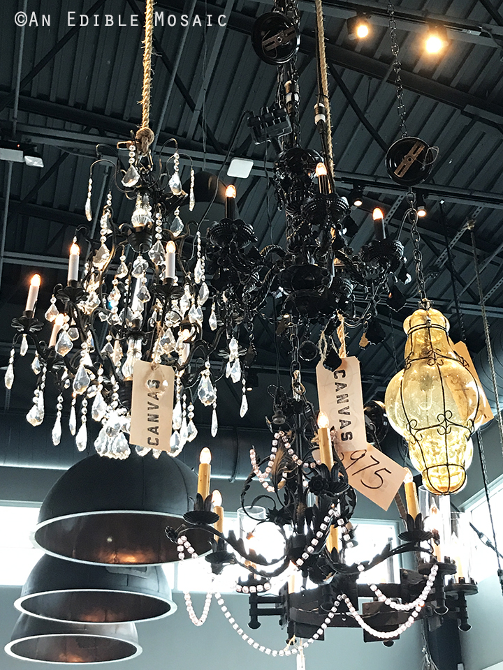 Chandeliers for Sale at Canvas in Orlando