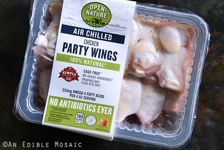 Open Nature Air Chilled Chicken Party Wings