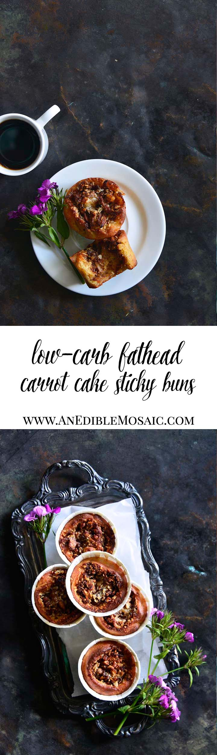 Low-Carb Fathead Carrot Cake Sticky Buns Long Pin