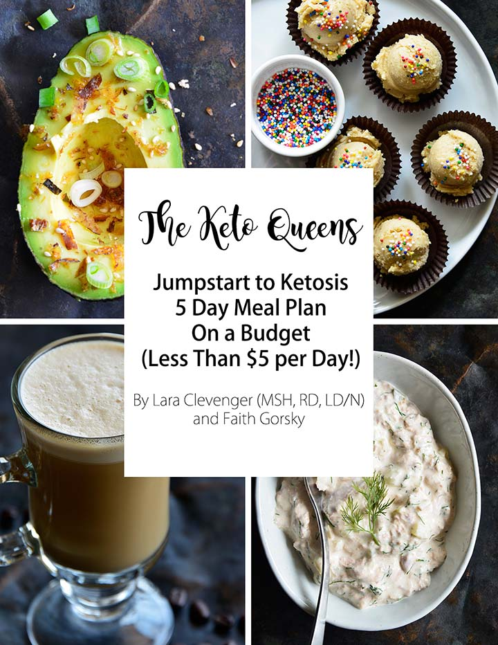 5 Day Keto on a Budget Jumpstart Meal Plan