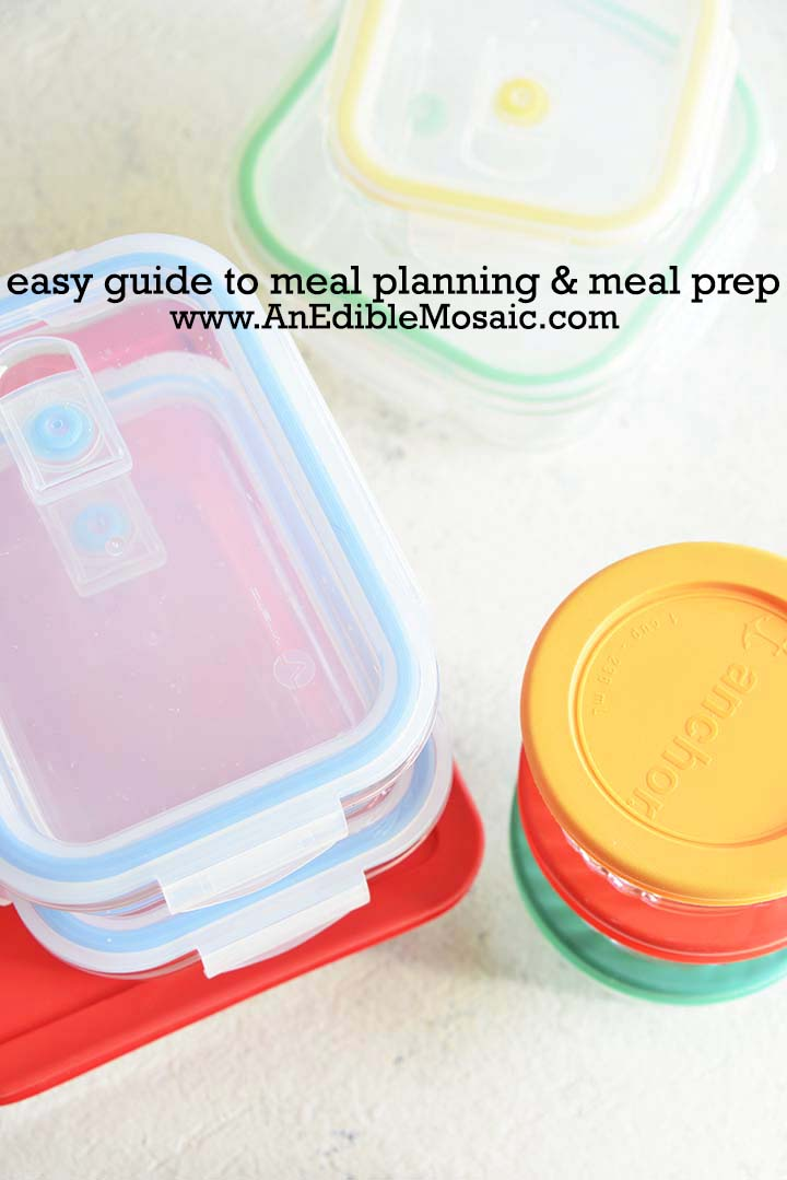 Easy Guide to Meal Planning and Meal Prep with Meal Prep Containers