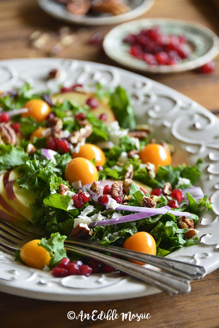 Christmas Salad.Festive Christmas Salad Recipe